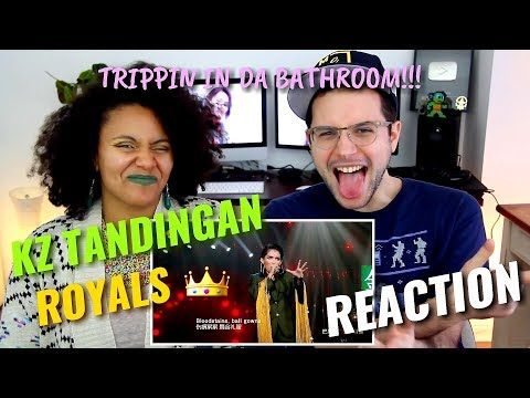 KZ Tandingan - Royals | Episode 9 | Singer 2018 | REACTION