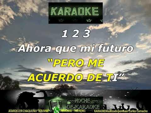 Download NICO HERNANDEZ   PERO ME ACUERDO DE TI KARAOKE