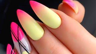 Маникюр 2021 на Апрель Весенний Дизайн Ногтей Гель Лаком Фото Nails Art Design
