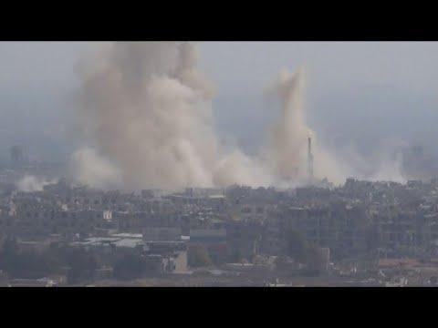 قوات النظام تواصل تصعيدها على الغوطة الشرقية موقعة مزيداً من الضحايا