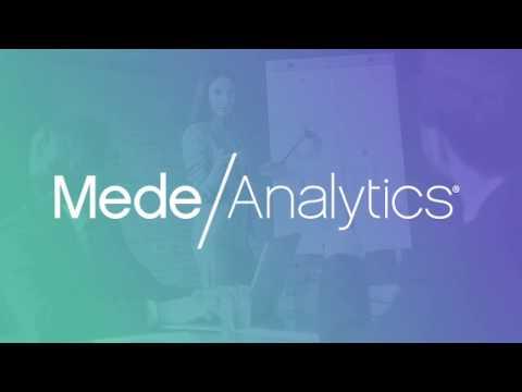 MedeAnalytics Features MedeCreate™ Healthcare Analytics Platform-as-a-Service at HLTH 2019