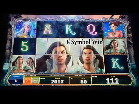 ++NEW Bally, Enchanted Realms slot machine, Live Play, no bonus