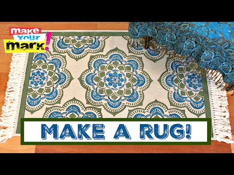 How to: Make Your Own Rug