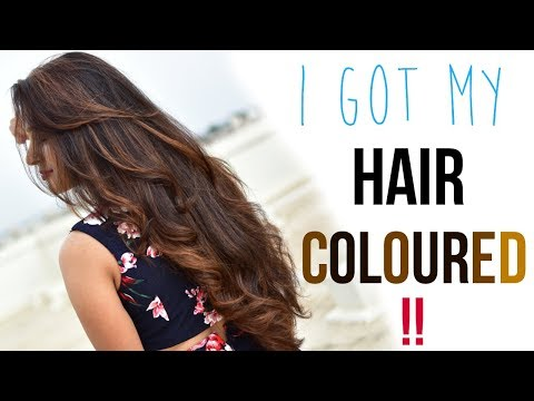 1ST TIME HAIR COLOURING EXPERIENCE| HAIR COLOR SUITABLE FOR
