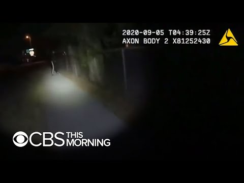 Police release body camera video of an officer shooting teen
