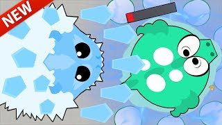 MOPE.IO *NEW* ICE MONSTER ANIMAL OP! ABILITY INSTANT KILLING DRAGONS (Mope.io Monsters Update)