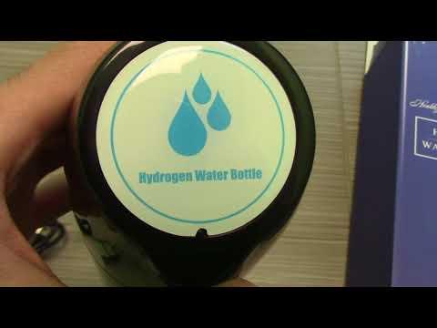 Review Hydrogen Bottle Water Taste Test
