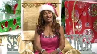 """Merry Xmas from DangerMan and Lady Sunshine of """"Real Divas Cook"""""""