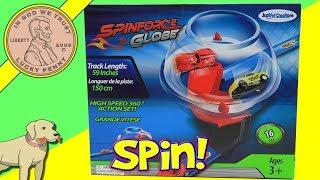 Spinforce Globe - High Speed Pull Back Cars