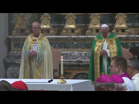 Archbishop of Canterbury meets Pope Francis