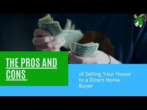 The Pros and Cons of Selling Your House to a Direct Home Buyer | Envy Property Solutions, LLC