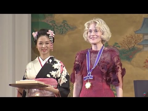 The 2016 Kyoto Prize Presentation Ceremony