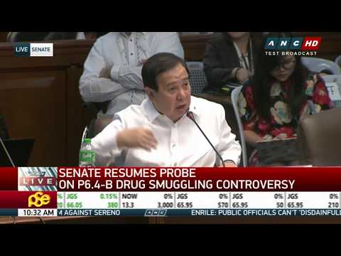 WATCH: Senate Blue Ribbon panel probes P6.4-B smuggled drugs controversy
