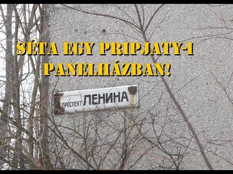 Séta egy Pripjaty-i panelházban! Walk a block of flats of Pripyat!