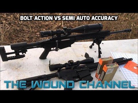 Bolt Action Vs Semi Auto Accuracy