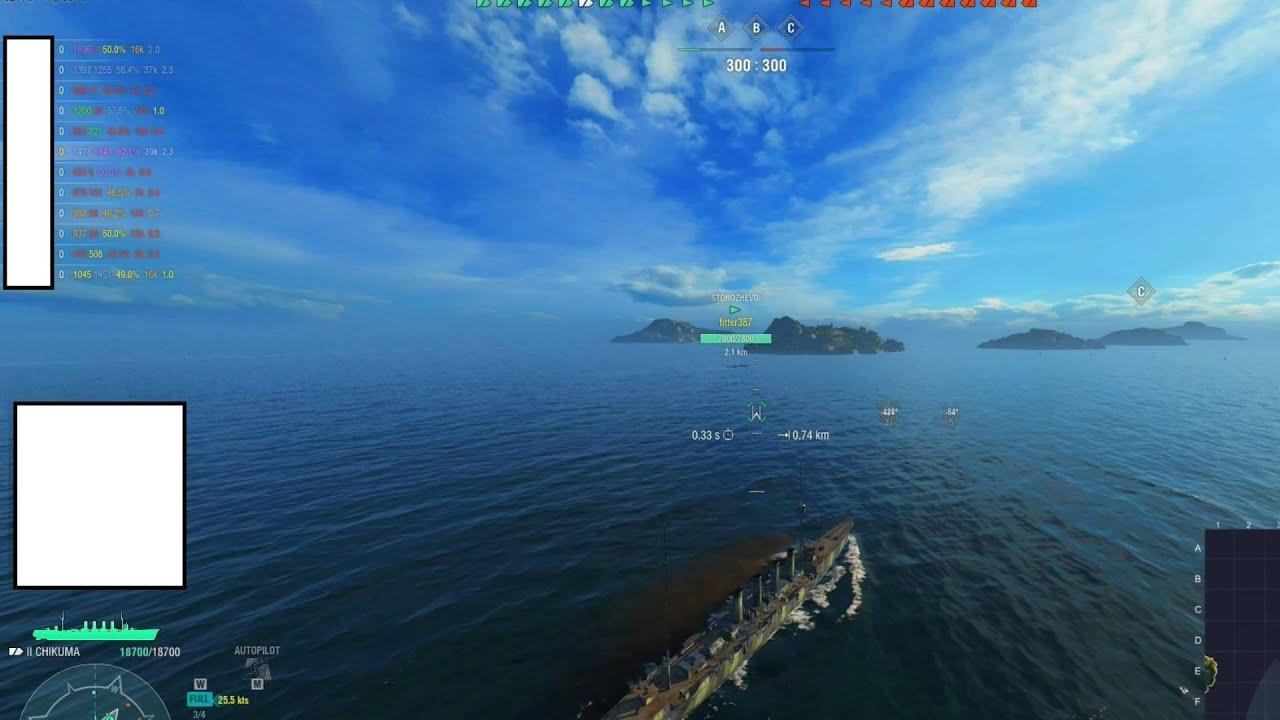 World of Warships - Aslain Modpack For In Game Statistics