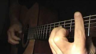 "Как играть на гитаре песню  The Beatles ""Yesterday"" (cover)"