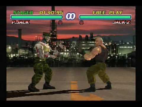 P Jack Tekken