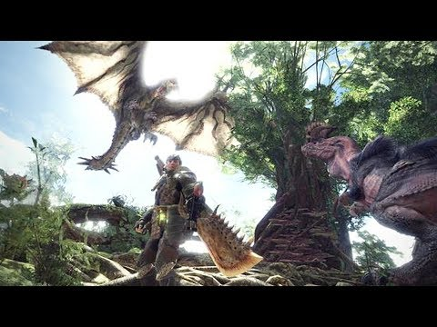 MONSTER HUNTER WORLD Gameplay - Developer Walkthrough