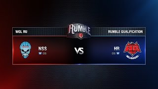 NSS TEAM vs HellRaisers Match 5 Continental Rumble Quals