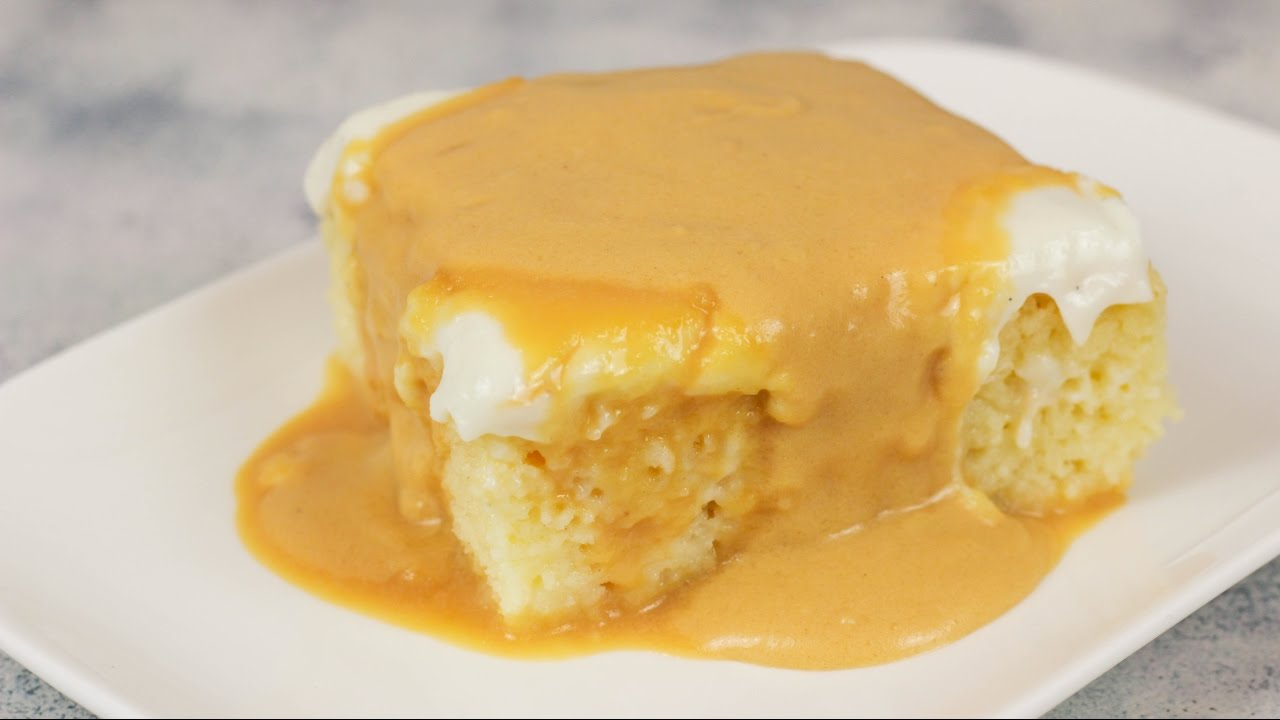 Milchkuchen bestes trilece rezept tres leches kuchen - Youtube kuchen ...