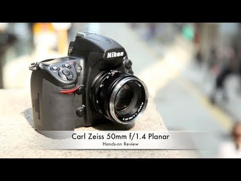 Carl Zeiss Planar T* 50mm f/1.4 Hands-on Review