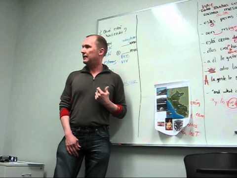 Condor Spanish Academy ANDREW (Conversation 1) - PERU