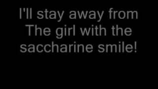 Donots- Saccharine Smile (Lyrics)