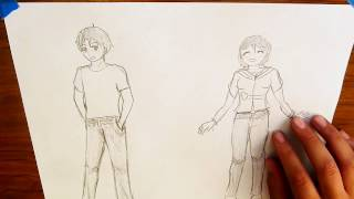 How to Draw Jeans - EASY TUTORIAL -