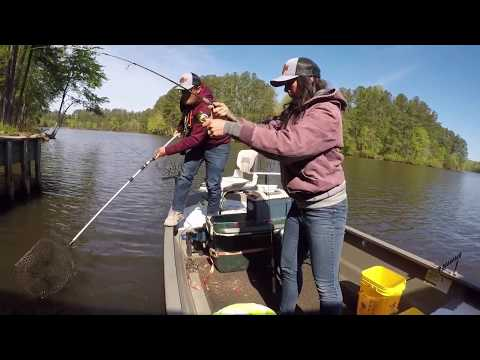 Lake Chesdin April Fishing - Richmond Crappie Club