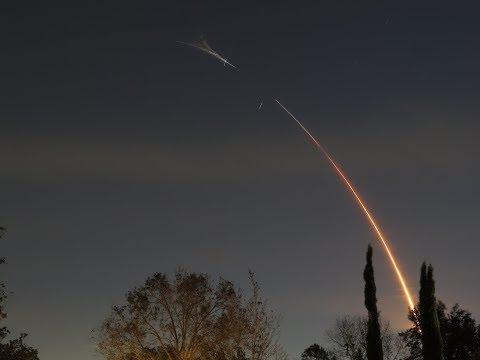 SpaceX Zuma Mission HD Telescoped