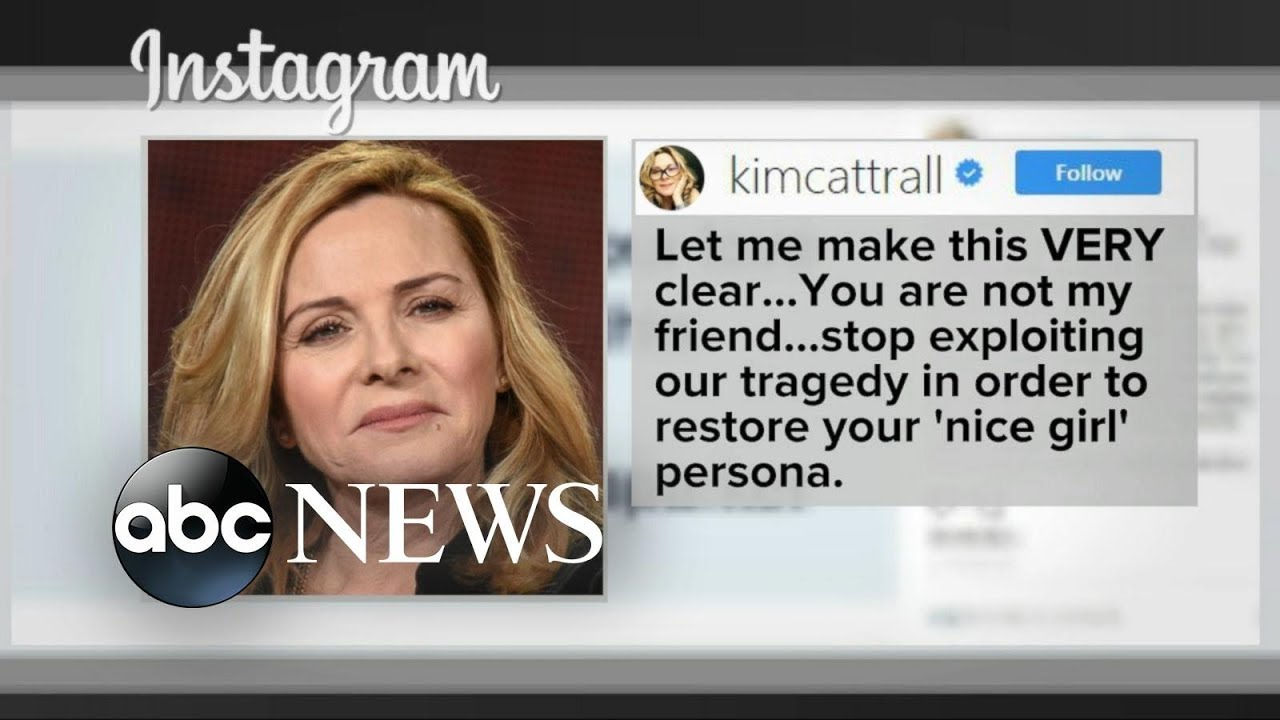 Download Kim Cattrall to Sarah Jessica Parker: You're not my friend