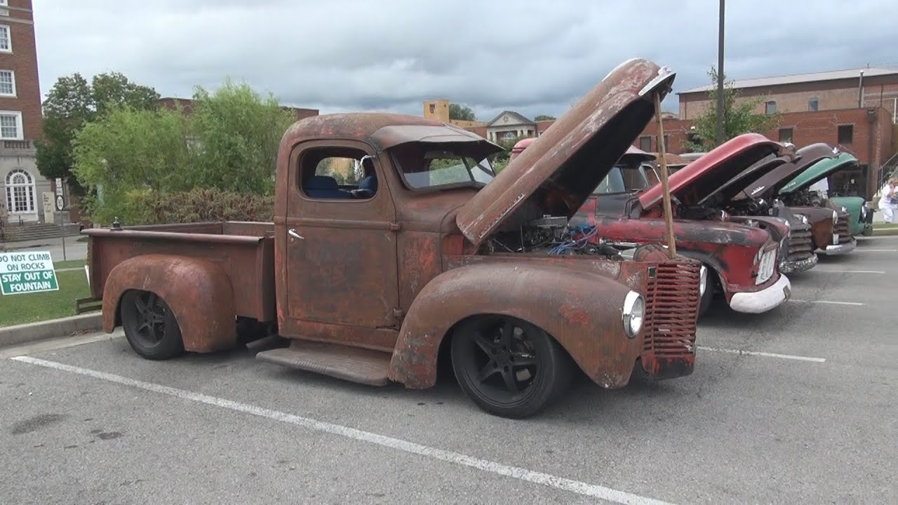 International Rat Rod Pickup Truck Somernites Cruise In