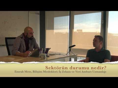 İş Zekası ve Veri Ambarı Uzmanlığı (Bilişim Meslekleri 3)