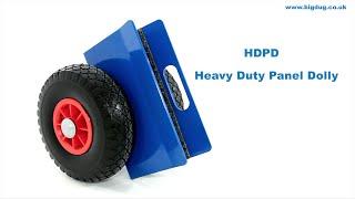 Bigdug Heavy Duty Panel Dolly Product Video