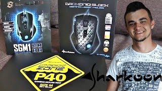 "Unboxing i Test w ""PUBG"" Myszek SKILLER SGM1 oraz DRAKONIA BLACK od Sharkoon !!!"