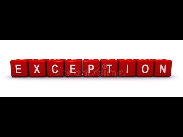 Exception-2Parte