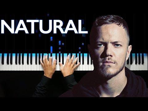 Imagine Dragons - Natural | Piano tutorial
