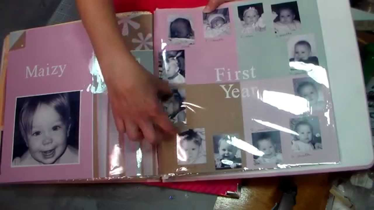 Scrapbooking Baby S First Year Pre Scrapping For Twins