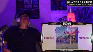 TRASH or PASS! Big Sean ft Eminem, Royce Da 59', Tee Grizzley ( Friday Night Cypher ) [REACTION!!!]