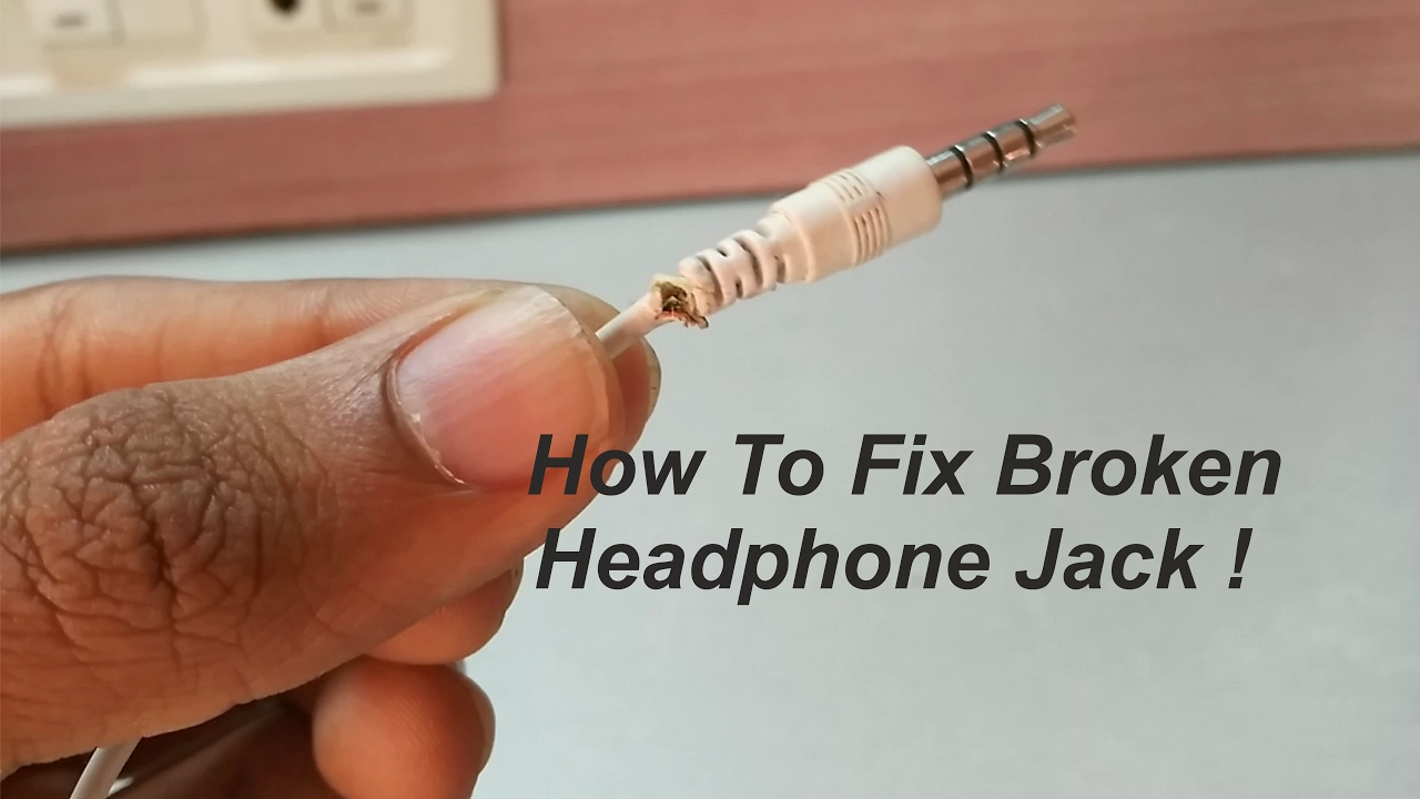how to fix broken headphone jack youtube. Black Bedroom Furniture Sets. Home Design Ideas