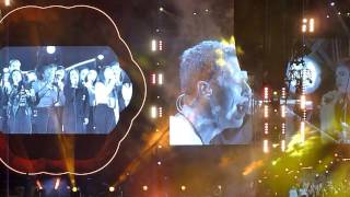 Coldplay performing Life On Mars @ Levi Stadium in Santa Clara CA September 3, 2016