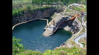 废弃矿坑如何处理?中国这一技术交出完美答案,网友直呼:不可能