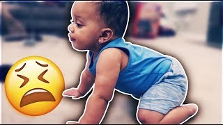 KYRIE CRAWLED FOR THE FIRST TIME | THE PRINCE FAMILY