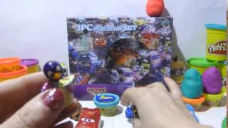 Play Doh skubi dubi du cars2 Minions surprise egg Kinder Surprise eggs Киндер Сюрпризы