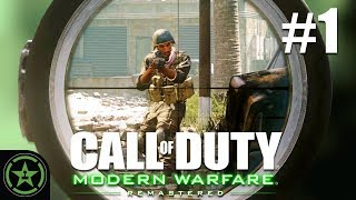 Sniped and Stabbed - Call Of Duty 4: Modern Warfare Remastered - (CoD Week #1) | Let