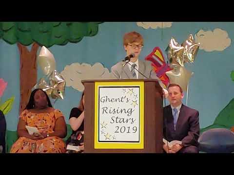 Ryan's 8th Grade Graduation Speech at Ghent School