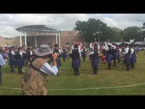 City of Dunedin Pipe Band Grade 2 Medley - Dunedin Highland Games 2018