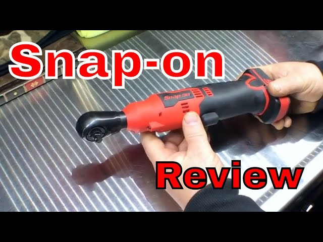 Snap-on 1/4 Ratchet 14.4v REVIEW