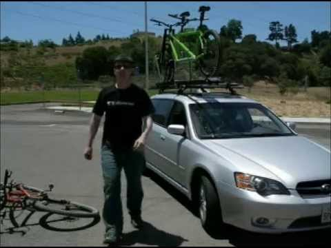 Homemade Tandem Bike Roof Rack Adapter - YouTube